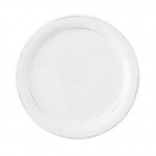 Juliska Al Fresco Berry & Thread Melamine Whitewash Dinner Plate