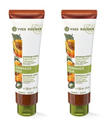 Yves Rocher Body Scrub, Apricot Gommage For All Skin Types, Pack of 2