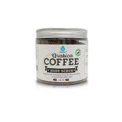 Pursonic 100% Natural Arabica Coffee Scrub 410ml, Natural Body Scrub for Skin Care, Stretch Marks, Acne & Anti Cellulite Treatment, Eczema and Acne, Deep Skin Exfoliator