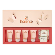 Rosense Rose Bath and Body Gift Set / Spa Set - Travel Size