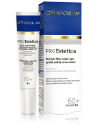 Wrinkle-Filler Under Eye, Eyelid and Lip Area Day & Night Cream by Miraculum - Most Important Active Ingredients - with Hial Prolift & Marine Collagen Microspheres - for 60+ Women - 15ml