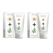 Herbal Natural Facial Cleansing Gel and Shower Gel Set with Chamomile and Achillea flower extracts by Moraz