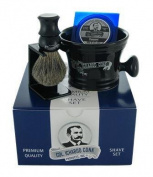 Col Ichabod Conk Shave Set- Bowl, Brush & Stand