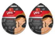 Yes To Tomatoes Detoxifying Charcoal Mud Mask Bundle