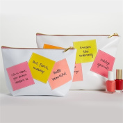 Two's Company Stick With It! Makeup, Cosmetics Bag
