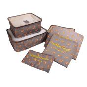 WinnerEco 6Pcs Waterproof Clothes Storage Bags Packing Organiser