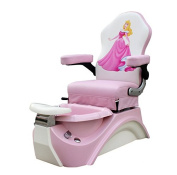 Kids Pedicure Chair SLEEPING BEAUTY Pink Pedicure Spa Nail Salon Furniture