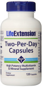 Life Extension Two-Per-Day Capsules 120 Capsules