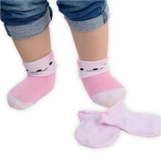 1 Pair Baby Girl Socks and Mittens Newborn Gift Set Range of Colourful Designs Available