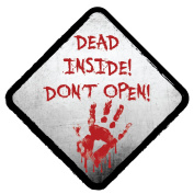 DEAD INSIDE- DON'T OPEN NOVELTY VINYL CAR STICKERS