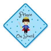 PRINCE ON BOARD VINYL SIGN SAFETY CAR VAN VEHICLE