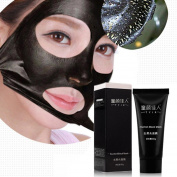 Blackhead Mask, RIUDA Blackhead Remover Mask Deep Cleansing Purifying Peel Off Blackhead Absorbing Pores Stubborn Dirt
