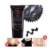 Blackhead Mask, RIUDA Mud Nose Blackhead Remover/Cleansing Peel Off Removal Mask/Black Mud Face Mask