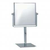 Nameeks Nameeks AR7717 Glimmer Square Double Sided 3x Magnification Makeup Mirror, Chrome