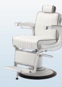 Takara Belmont 225 Elite Barber Chair White