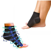 1 Pair Compression Foot Ankle Angel Sleeve Anti Fatigue Sock for Ankle Swelling Plantar