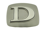 Western Belt Buckle Initial D Letter American Alphabet Monogram Cowboy New Rodeo