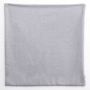 Darice Pillow Case with Zipper - Grey - 41cm x 41cm - No Monogram