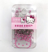 Sanrio Hello Kitty Pink Pearl Straight Pin Case