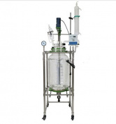 Kohstar 100L Jacketed Chemical Glass Reactor, Glass Reactor