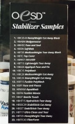 OESD Stabiliser Brochure With Samples, Features, Proper Uses and Comparisons