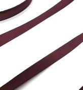 Anrox Supply Co 1.6cm Wine Burgundy Twill Tape Herringbone 50 Yard Spool