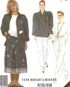 Designer casual jacket outfit - McCall's 1980s vintage sewing pattern 3082 - Size 12 - Fenn Wright & Manson