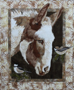 Matilda Donkey Toni Whitney Applique Bigfork Bay Quilt Pattern