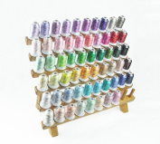 58 Assorted Colours Rayon Embroidery Machine Thread Set for Janome Brother Pfaff Babylock Singer Bernina Husqvaran Kenmore Juki Home Machines