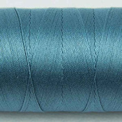 WonderFil Specialty Threads Spagetti, Soft Blue, 3-ply 100% Long Staple Double-Gassed Egyptian Cotton, 12wt