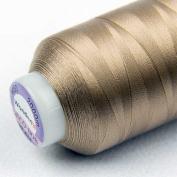 WonderFil Specialty Threads DecoBob Soft Tan, 2-ply Cottonized Polyester, 80wt