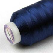 WonderFil Specialty Threads DecoBob Navy, 2-ply Cottonized Polyester, 80wt