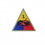 Reproduction World War 2 1st Armoured Division (Old Ironsides) Patch