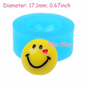 G248 Fimo Mould Mould Silicone Smiley
