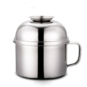 FG.X.YL Thick Multifunction Stainless Steel Boxes Bento Boxes Students Snack Cup,Keep Warm