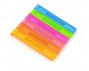 Da.Wa 6 pcs Colourful Plastic Sealing Bag Clips Kitchen Tools
