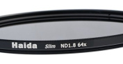 Slim ND64 Neutral Density Filter 52 mm and Pro Lens Cap with Inner Grip