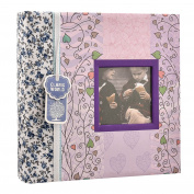 2 x Arpan Wedding Gift Memo Slip In Photo Album With Window for 200 15cm x 10cm Photos
