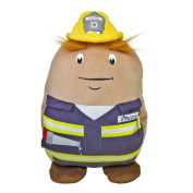Spuddy Fireman Firefighter Work Sofa Car TV Remote Beer Snack Cushion Holder Couch Potato Plush Mans & Boys Gift Toy Present
