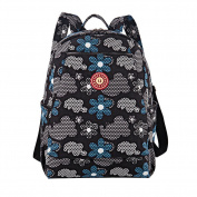 Multifunctional Baby Nappy Changing Bag Nappy Backpack Printing Mummy Bag