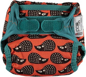 Pop-In Single Printed Nappy Bamboo, Hedgehog