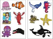 Premium Ocean Animal (Under the Sea) Tattoos
