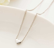 Interesting® Trendy Tiny Heart Short Pendant Necklace Women Gold Plated Chain Lover Lady Girl Gifts Fashion Jewellery
