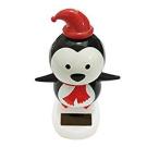 Veroda Solar Powered Dancing Flip Flap Car Home Desk Dancer Bobble Toy Penguin
