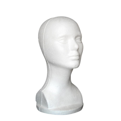 Foam Mannequin Head, Tonsee Female Styrofoam Hat Glasses Hair Wig Mannequin Stand Display Head Model Chest