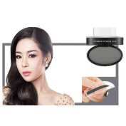 VENMO Waterproof Straight United Eyebrow Powder Seal with Brow Stamps Brush, Natural Perfect for Enhancing Eye Brow Shape