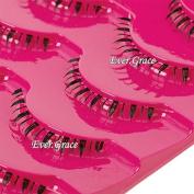 Makeup 5 Pairs Handmade Natural Lower False Eyelashes Under Bottom Eye Lashes