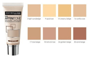 Maybelline Affinitone Foundation 24 Golden Beige 30ml by Maybelline