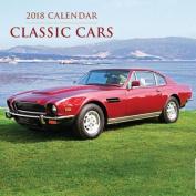 2018 Calendar: Classic Cars