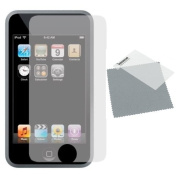 APPLE iPOD TOUCH 2G / 3G INVISIBLE Screen Protector with cleaning cloth - **PACK OF 3** - Hi-TEC ESSENTIALS